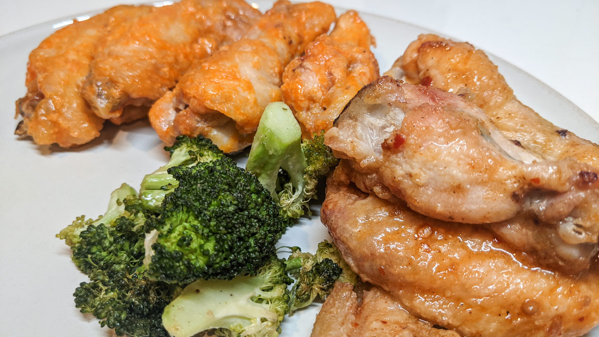 Oven Baked Chicken Wing Recipe