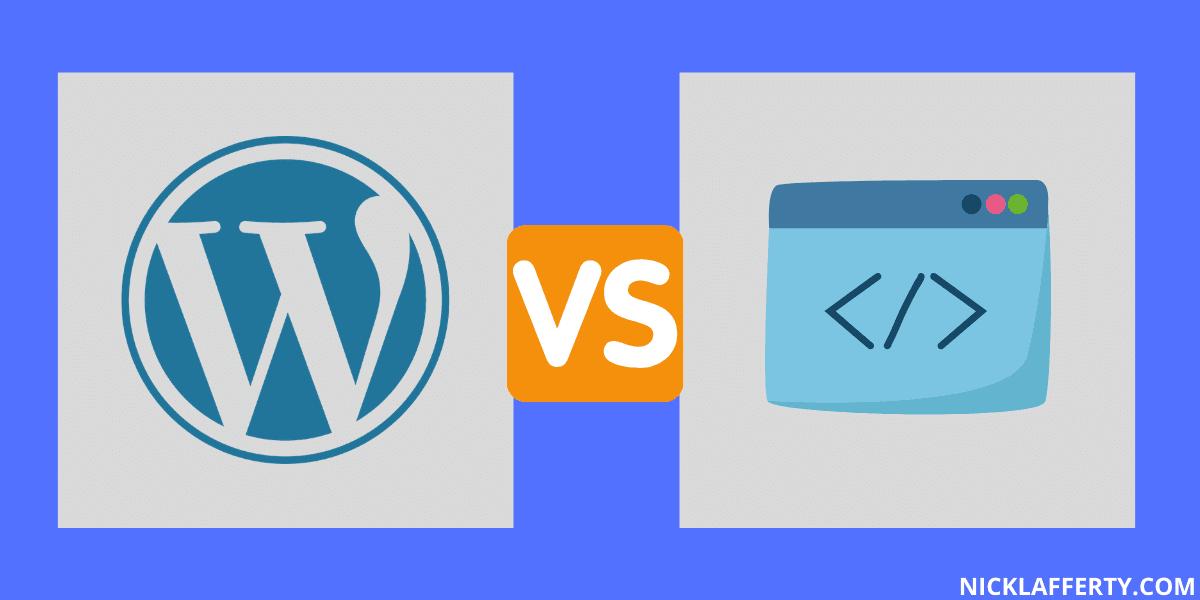 Wordpress VS Static HTML Websites
